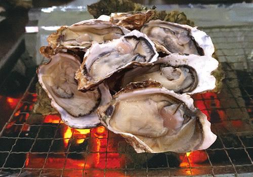 牡蠣バーベキュー