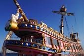 海賊船アニバーサリークルーズ号の外観