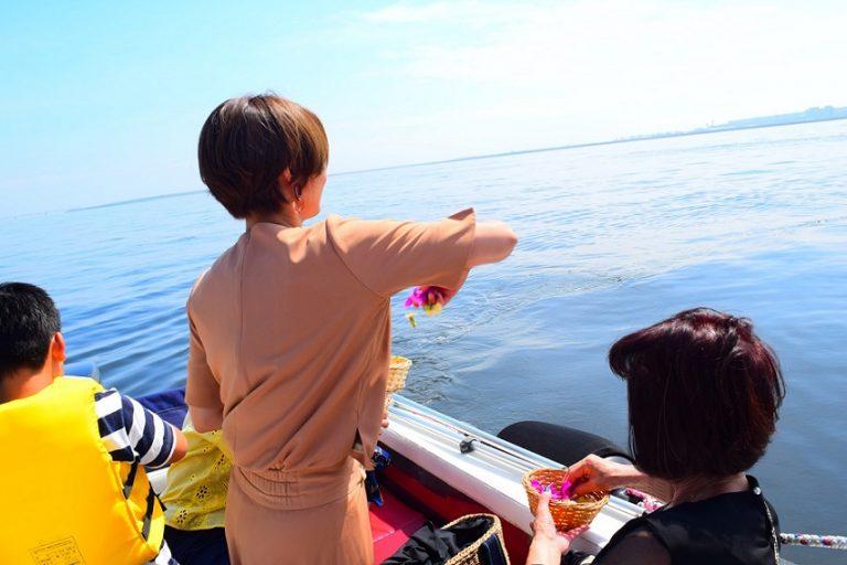 綺麗な海での散骨クルーズ