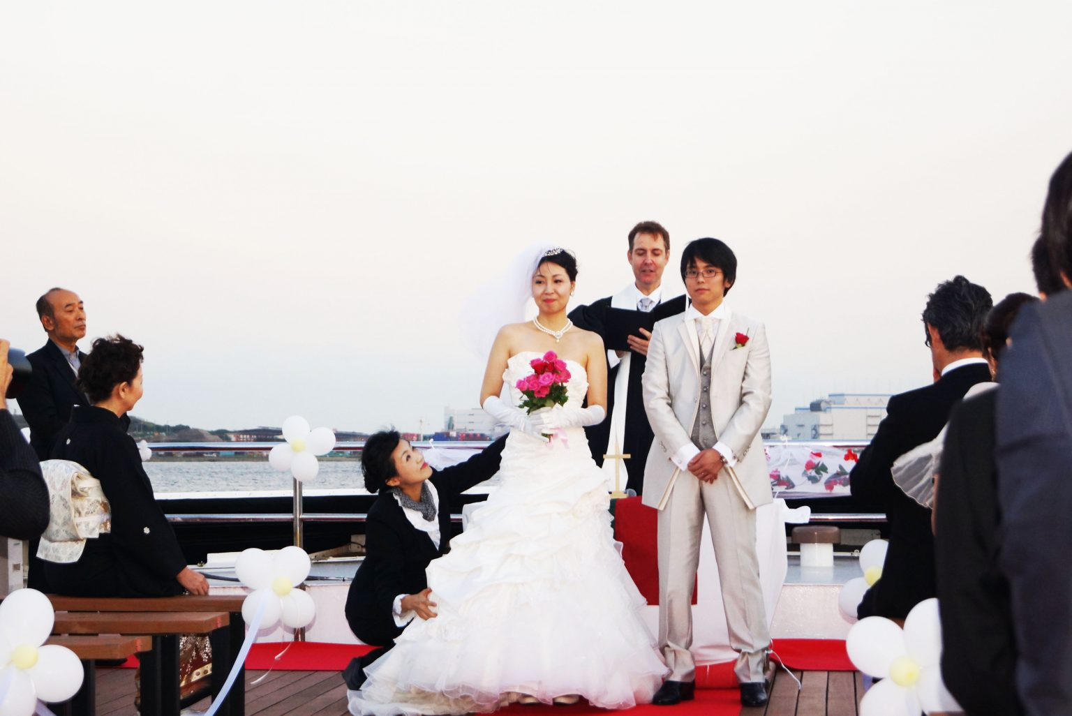 挙式クルージング 結婚式