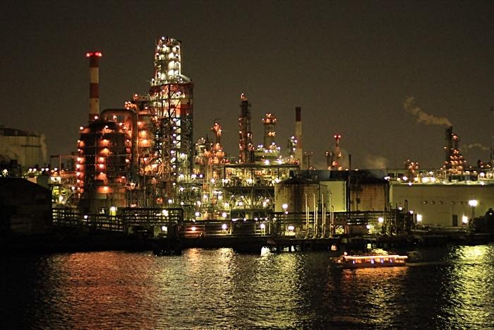 川崎工場夜景 クルージングマップ
