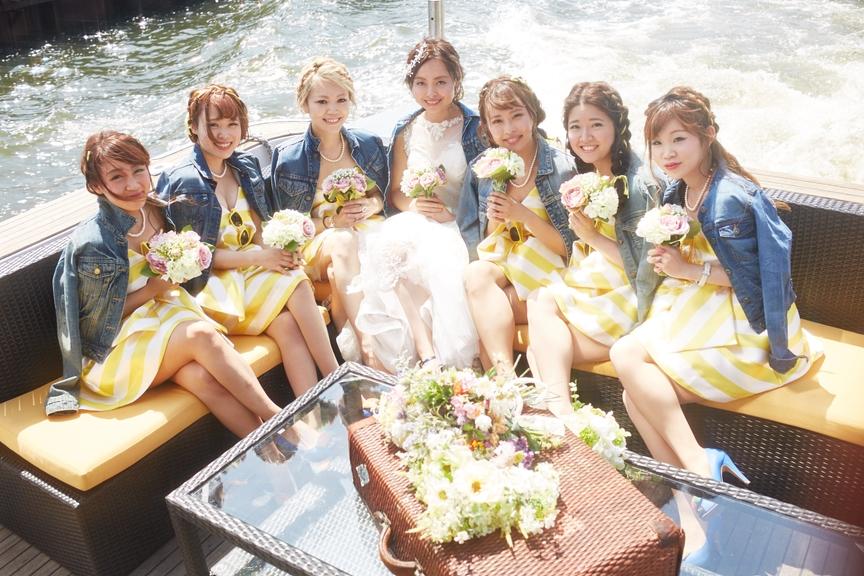 結婚式クルージング