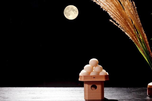 十五夜のお月さま