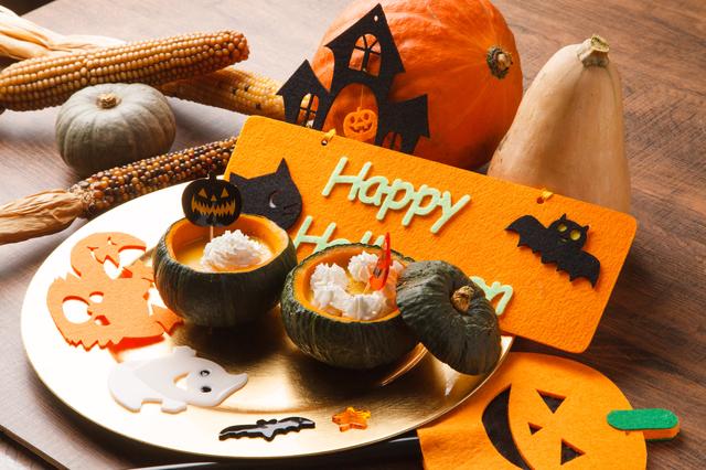 ハロウィンのかぼちゃのお菓子