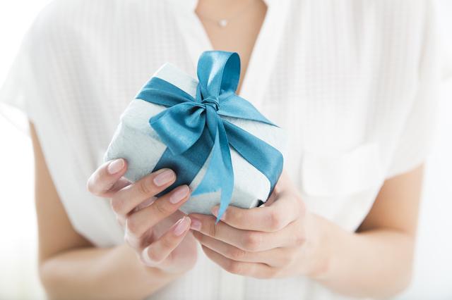 手渡しでプレゼント