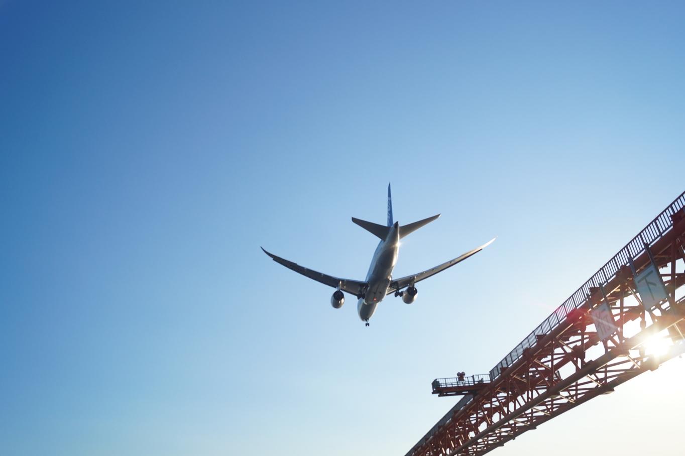 ⑤飛行機写真