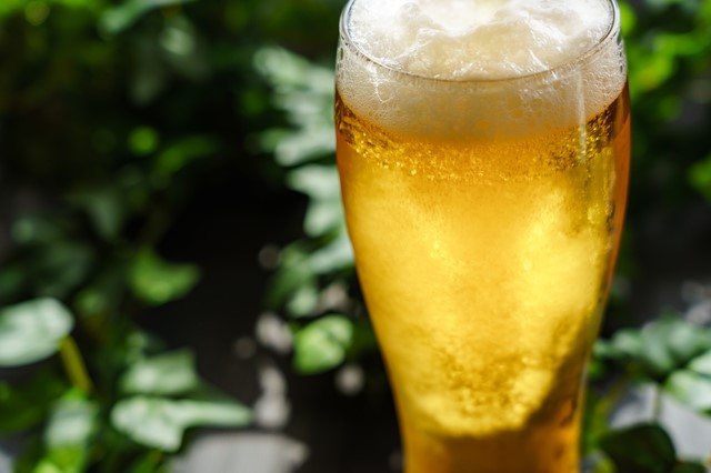 夏の定番キンキンに冷えたビール
