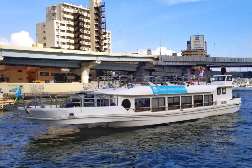 80名ほどが乗船できる「オリエンタルノア号」