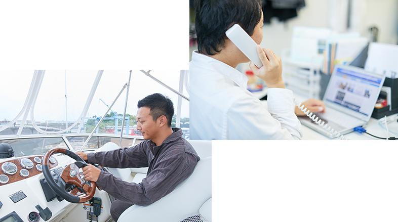 SERVICE 02 制作サポート:経験豊富なスタッフサポート