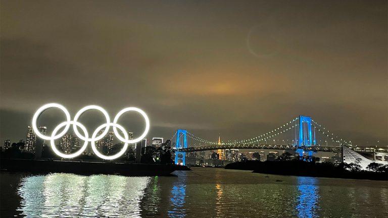 夜景!オリンピックモニュメント